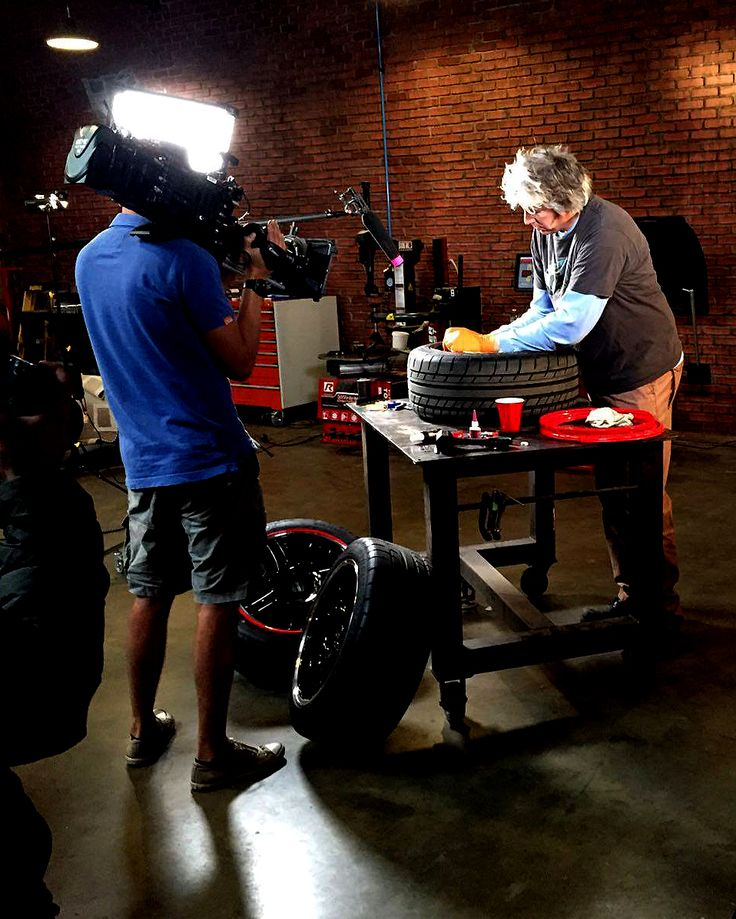 Filming our exciting AlloyGator apperance on Wheeler Dealers at AlloyGator North…
