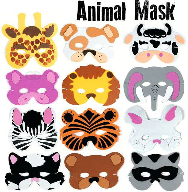 animal masks for Noah's Ark