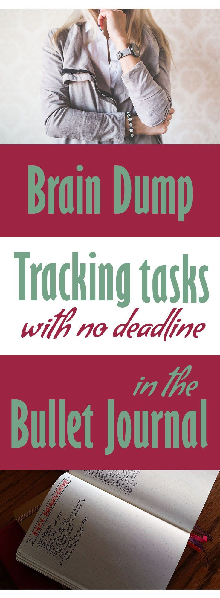 There are so many little things that need to get done, but don't belong on a monthly, weekly, or daily page. These tasks have a tendency to fall through the cracks and get forgotten. There's an easy way to keep them all in one place, and that is the Brain Dump.