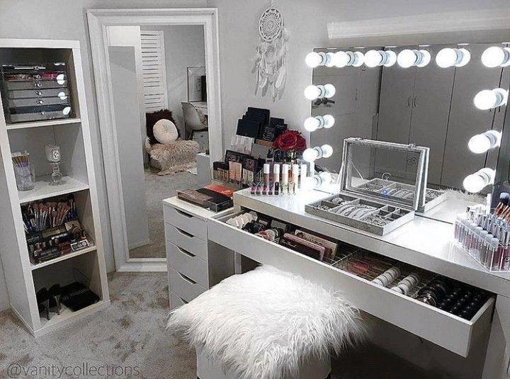 Diy Makeup Room Ideas Organizer Storage And Decorating Makeuproomideas Girlsroom Makeuporaganization Bedroom Makeup Vanity Beauty Room Decor Vanity Design