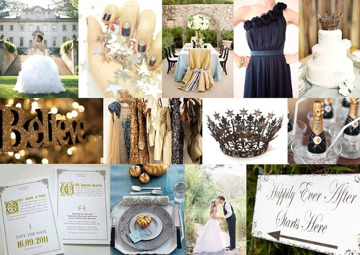 18 best blue and gold wedding images on Pinterest | Blues, Dream ...