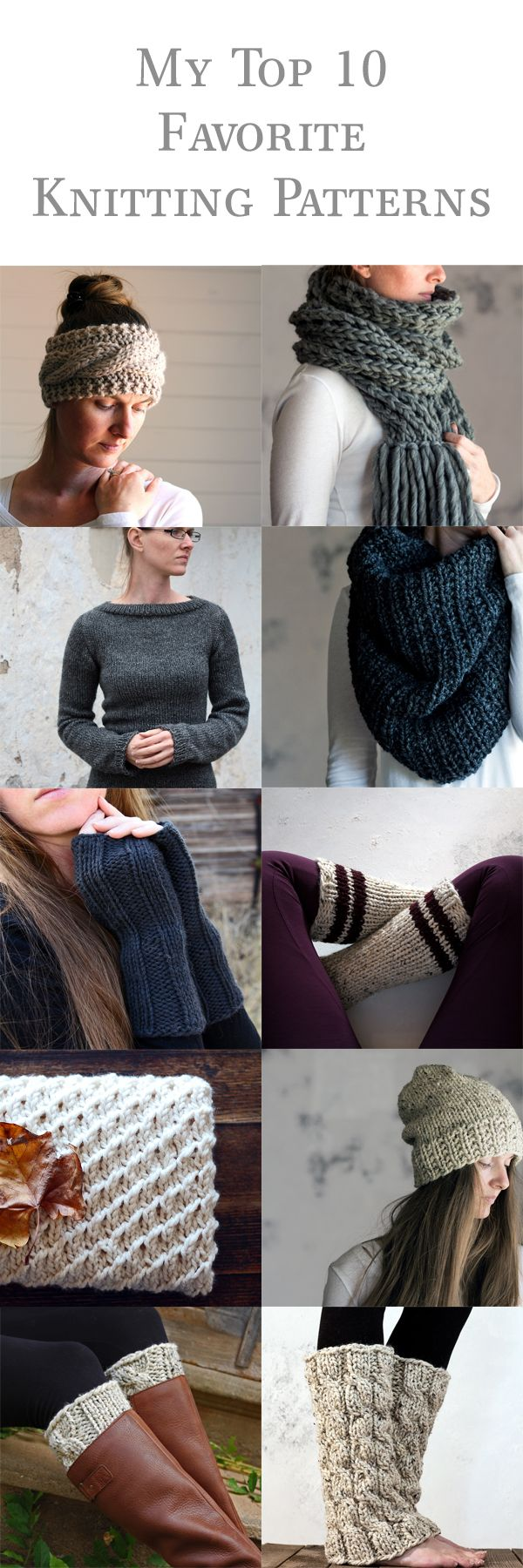 My favorite knitting patterns for 2016!