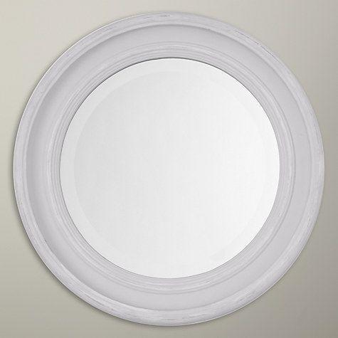 Buy John Lewis Porthole Mirror, Dia.40cm, Grey Online at johnlewis.com