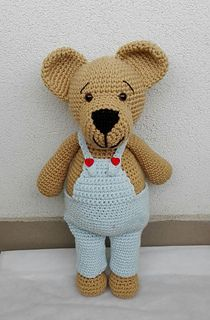 This pattern includes instructions how to crochet a bear step by step, material you will need and some pictures.