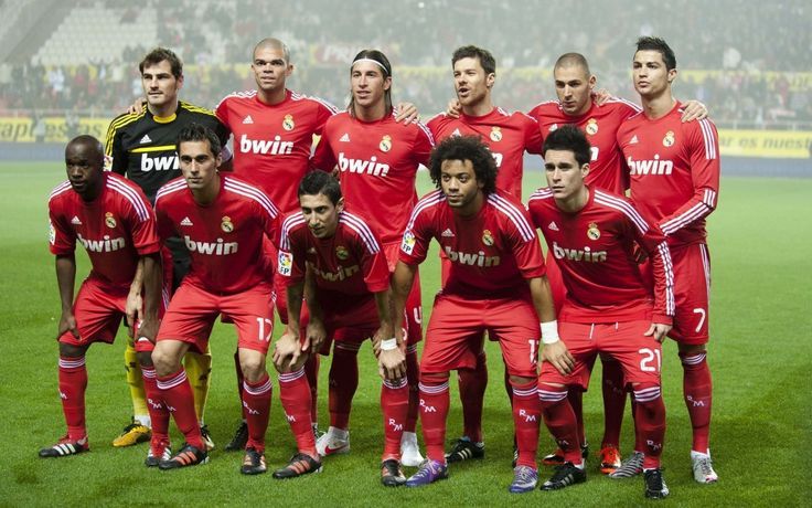 Real Madrid Red Jersey