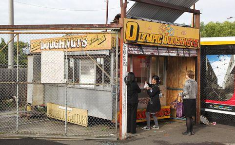 Olympic Doughnuts Footscray station