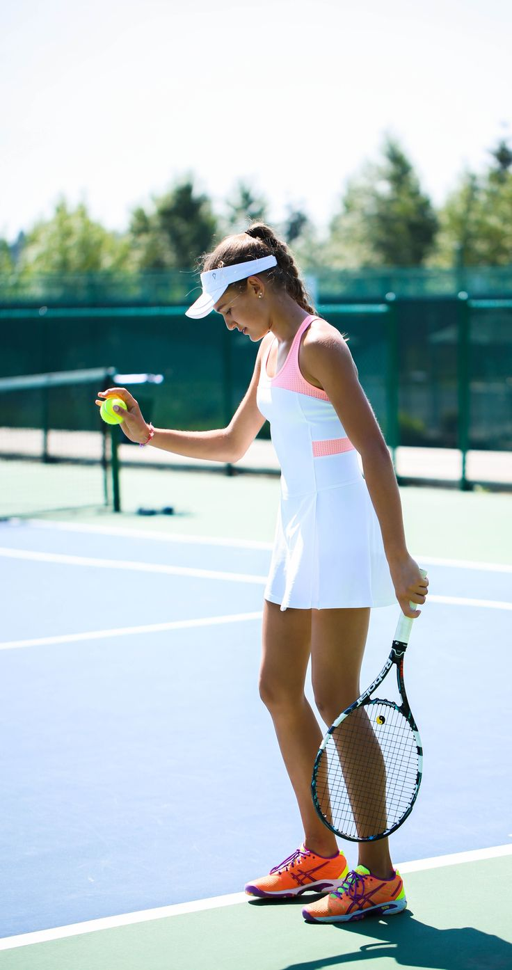 fine-tune your tennis game in this breathable dress. | Rally Point Dress