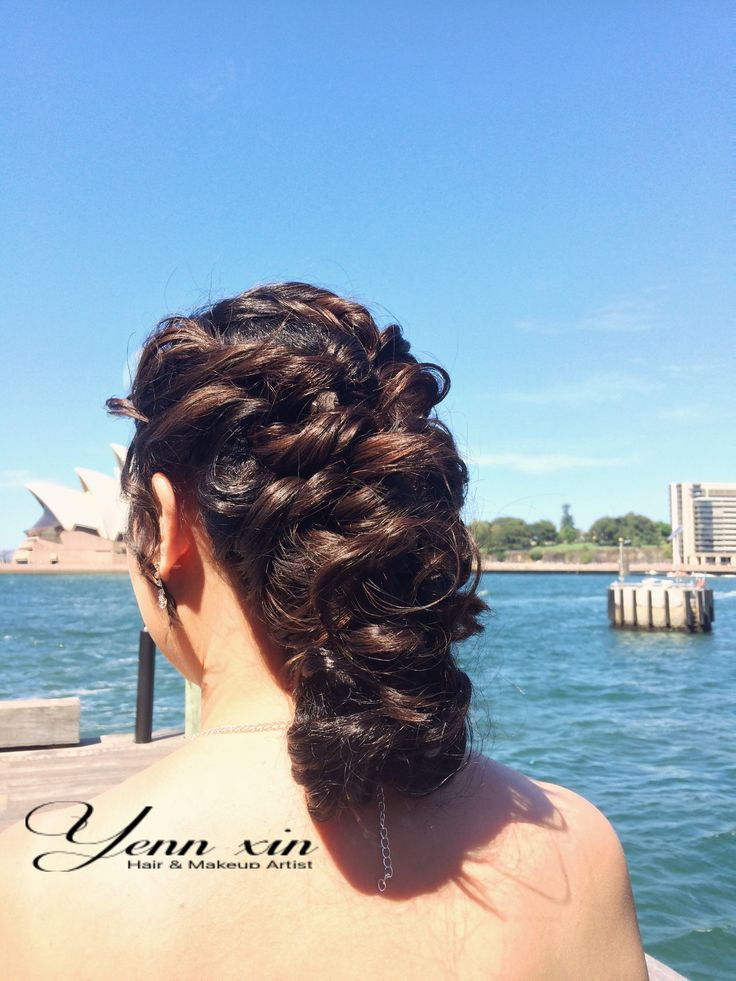 Wedding hairstyle, braid hairstyle, wedding updo, classic hairstyle