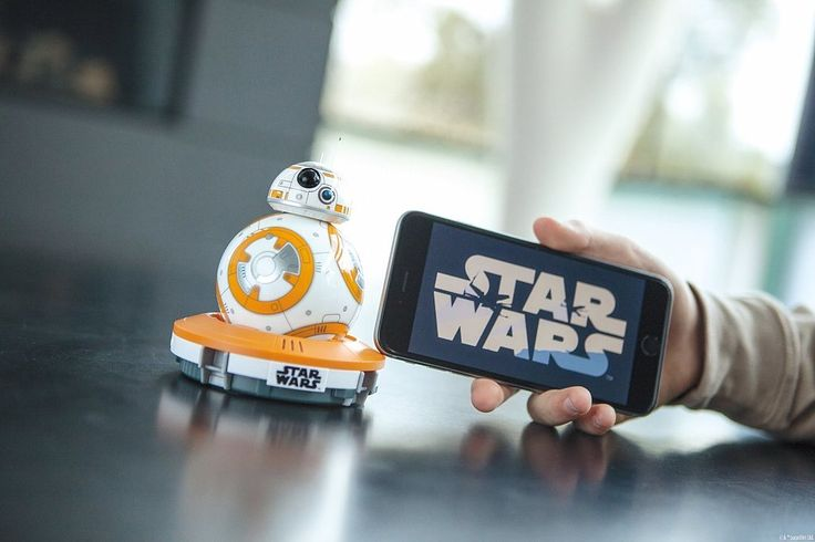 Spend your days endlessly playing with the Sphero BB-8 App-Enabled Droid ($150), a toy that really does function like a droid.