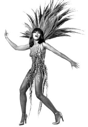"""Quote of the week: """"Physical strength in a woman - that's what I am.""""  Tina Turner. Gosh that gal can move!"""