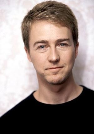 Edward Norton. C'mon now. Male actor, portrait, photo