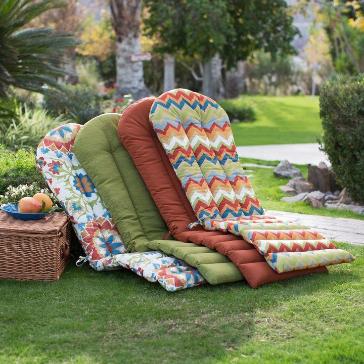 Ordinaire Modern Adirondack Chair Cushions Coral Coast Classic Adirondack Chair  Cushion | Hayneedle Ihjgzxv