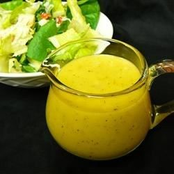 Caesar salad dressing gets a face-lift in this version made with white wine and Balsamic vinegars, Dijon mustard, lemon zest, and Italian seasoning.