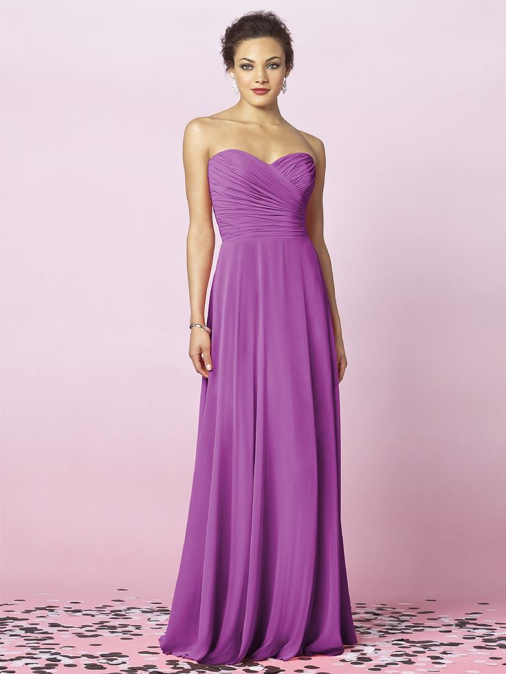 12 best Bridesmaid dresses images on Pinterest | Evening gowns ...
