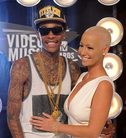Reconciliation? Amber Rose And Wiz Kahlifa Seen Together At A Night Club