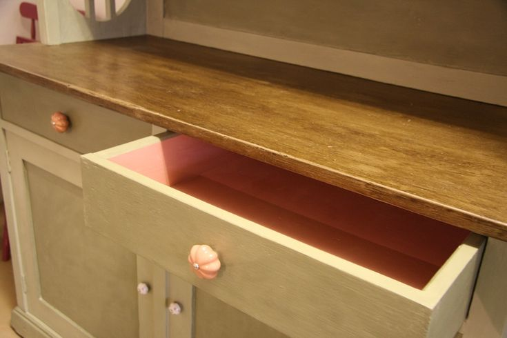 Romantic painted cupboard - Annie Sloan chalk paint
