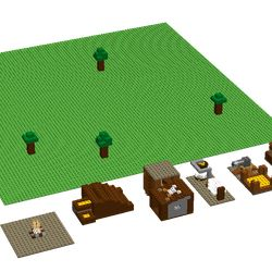 Do you know this game on ipad called clash of clans?yes, well now no need for an ipad to play clash of clans because it is now out for lego's. This is a starter kit to start your clash of lego's base. it contains the following: 1 cannon 1 barack 1 HQ 1 elixir generater 1 gold mine 1 campfire 1 gold storage 1 elixir storage 1 archer tower 4 trees I made this project because i find it really anoying if something like your ipad got broken or your grounded because i cannot play clash of clans or…