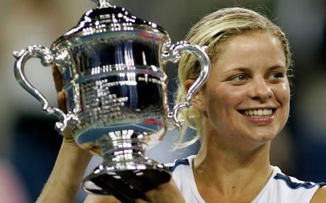 Kim Clijsters  Good luck with your retirement! Tennis legend!