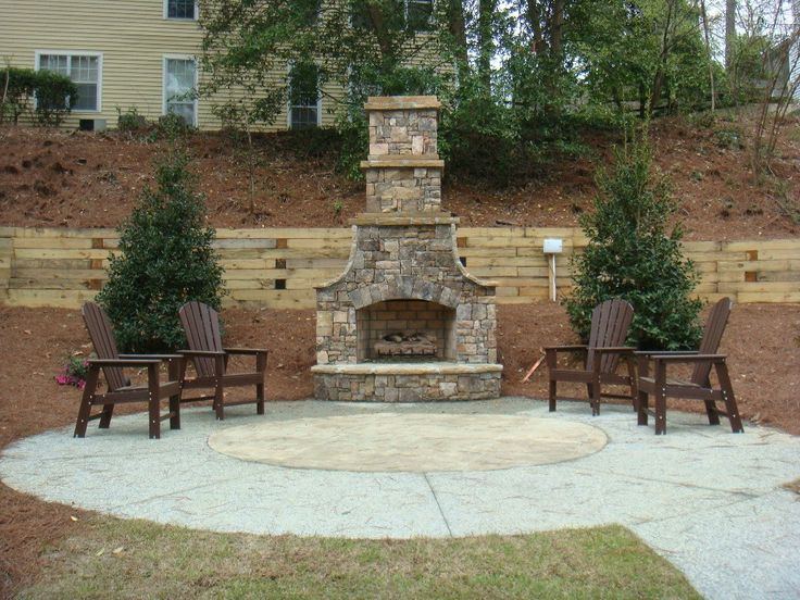 fireplace kits for outdoors | Home Design Small Outdoor Fireplace Kits