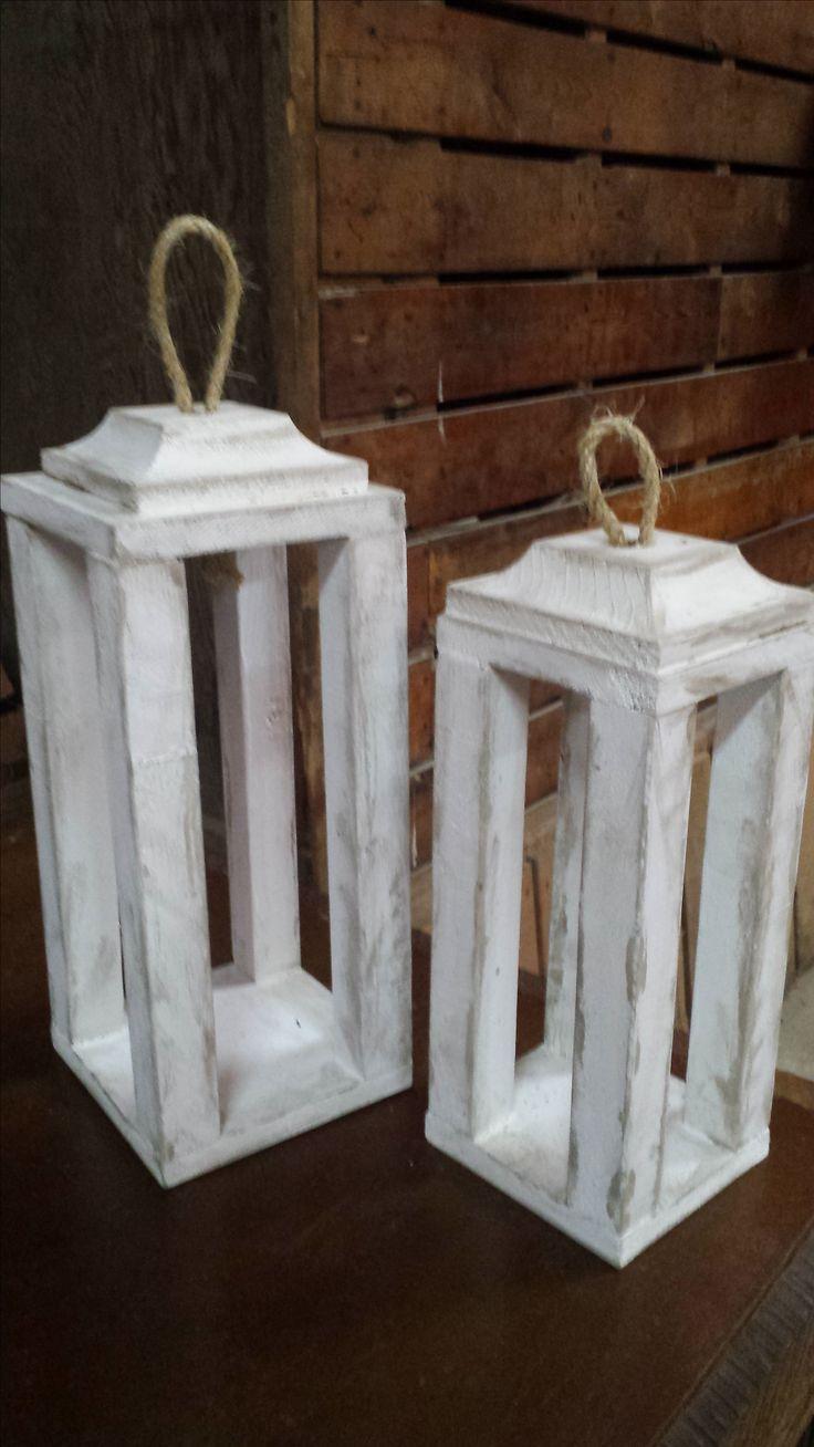 Rustic Lantern Workshop!   www.shabbychicworkshops.com