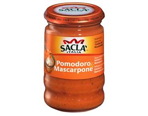 Mascarpone peynirli ve domatesli makarna sosu 190 gr.