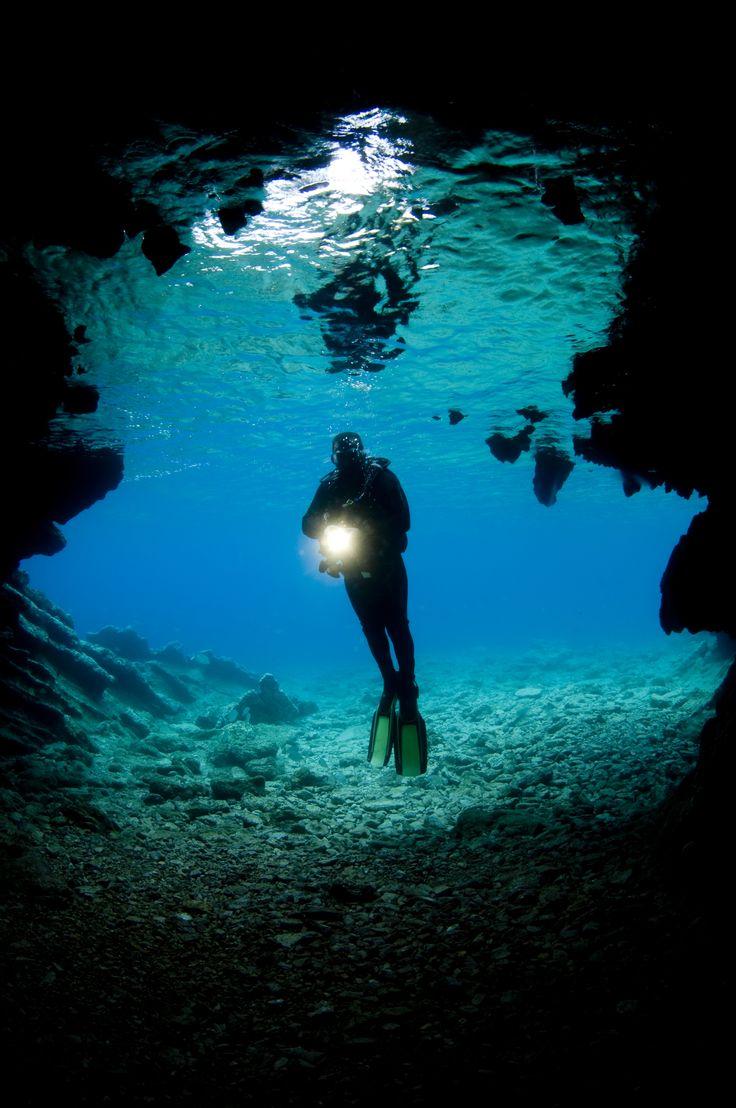 Scuba diving in Crete