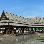 A Float The Historic Province of Ayutthaya; 'Thungbuachom Floating Market'
