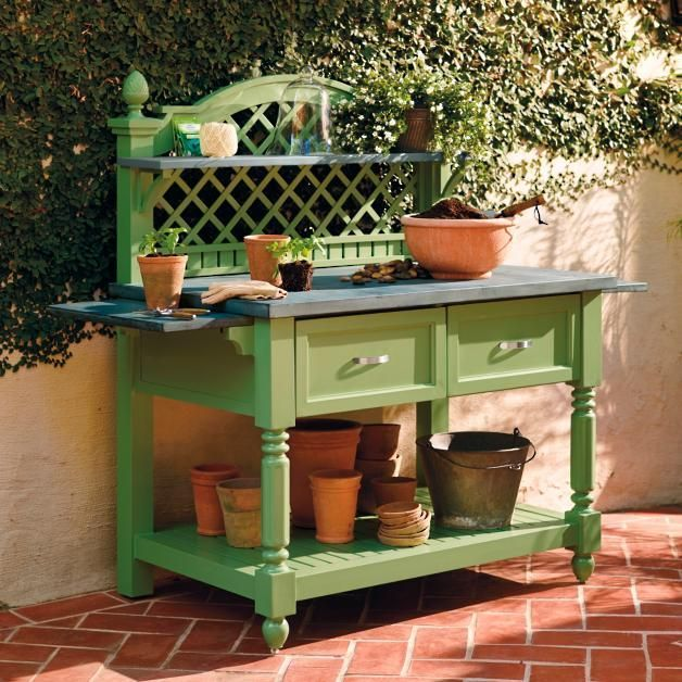 619 best best potting bench design images on pinterest gardening