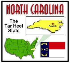 State facts about North Carolina