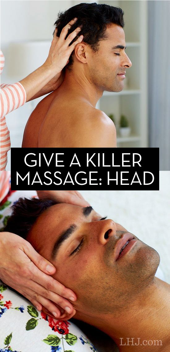 Learn how to give the best head massage ever (then teach your partner!)