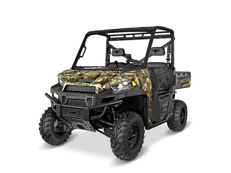 New 2016 Polaris RANGER XP 900 Polaris Pursuit Camo ATVs For Sale in Ohio. 2016 Polaris RANGER XP 900 Polaris Pursuit Camo, 2016 Polaris® RANGER XP® 900 Polaris Pursuit® Camo Features May Include: 68 horsepower, high output ProStar® 900 EFI engine Engine located under box for quieter ride Drive train built for higher performance including powerful cooling for the belt & clutches On-Demand True All-Wheel Drive with Turf Mode 1000 lb (453.6 kg) Box capacity, 1500 lb (680.4 kg) total payload…