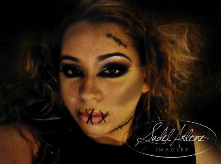 halloween makeup zombie girl - photo #43