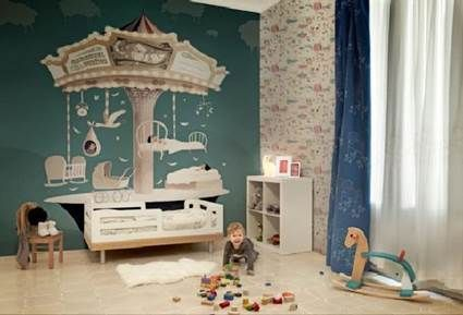 Themed childrens bedrooms, living in a circus kids room #kidsrooms #playrooms…