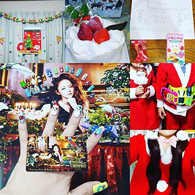 楽しかった#クリスマス 。 今年の#クリスマスケーキ は、大好きな#安室ちゃん の#ポスター と#ミュージックカード が付いてくる#セブン の#クリスマス #ケーキ を予約してくれて、アレルギーでクリスマスケーキを食べられない私に、大好きな安室ちゃんのポスターとミュージックカードをプレゼントしてくれたよ。 嬉しすぎる~\(^-^)/ ありがとう(^o^) ケーキは、ハルエリ、クマコ、プさんがおいしくいただきました。 大好きな安室ちゃんのポスターとミュージックカードをいただいたから、これまで作った#クリスマスネイル と一緒に並べてみました。 可愛い~\(^-^)/ 素敵なクリスマス#プレゼント を、ありがとう。 クリスマスには、はるくんが#欲しいものリスト と#サンタさん に#お手紙 を書いたから、ハルエリ達にもサンタさんから、素敵な#クリスマスプレゼント が届きました。 良かったね\(^-^)/ サンタさん、ありがとう。 今年は、24日と25日の2日間、夜は、みんなでサンタコス着て、お家で#クリスマスパーティー をしたから、本当に楽しかった\(^-^)/…