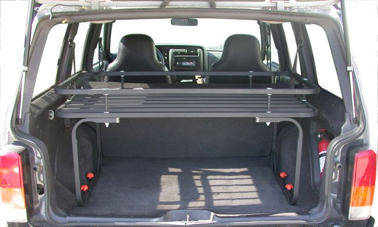 Mountaineer Rack in Gloss Black for Jeep Cherokee XJ $297