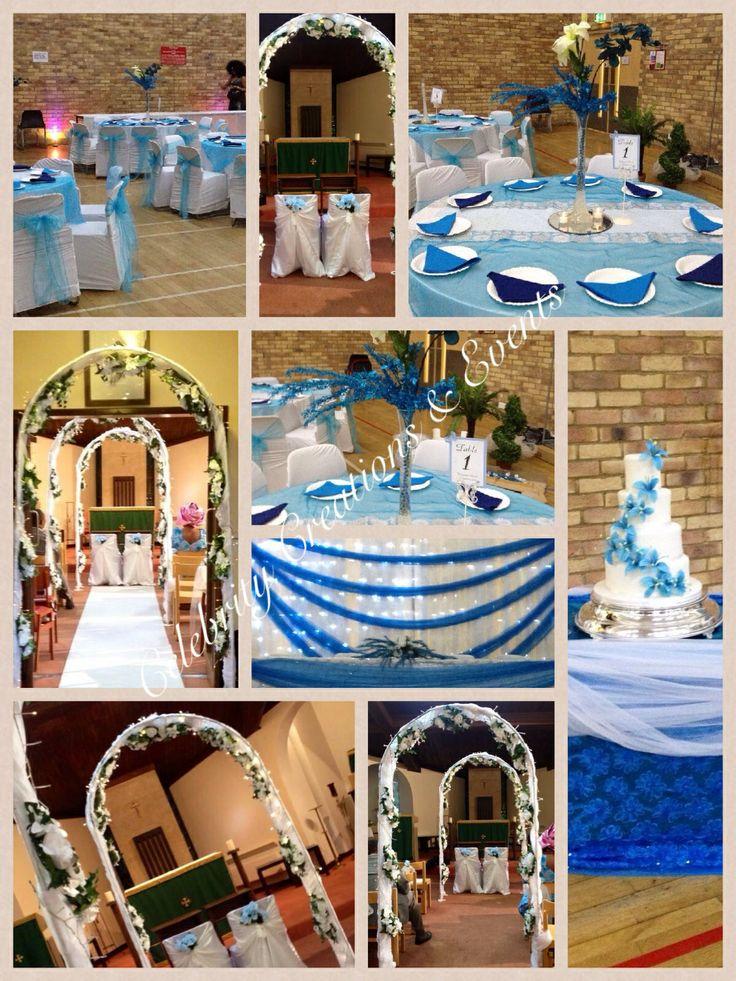 Turquoise & Royal blue wedding theme | Wedding | Pinterest ...