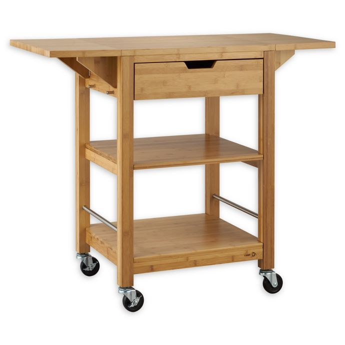 Trinity Drop Leaf Kitchen Cart Pallet Furniture Shelves Pallet Decor Pallet Furniture Designs