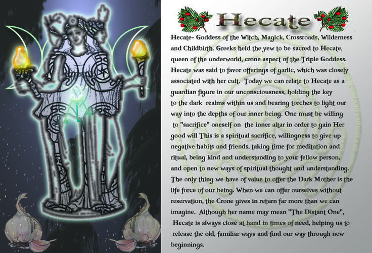 Hecate – Goddess of the Witch, Magick, Crossroads, Wilderness and Childbirth | Witches Of The Craft®