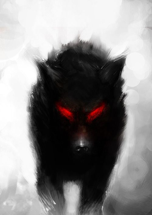 Werewolf ~ I don't know if this is possible, but I would love to have this as a tattoo (if its possible because I'm thinking of the colours used...) if I were to have it as a tattoo, I'd have it the same in this picture and in the middle (bottom) of my back.