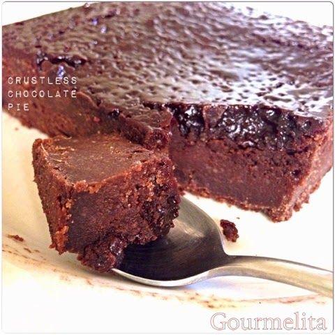 Σοκολατόπιτα με Ούζο | Gourmelita