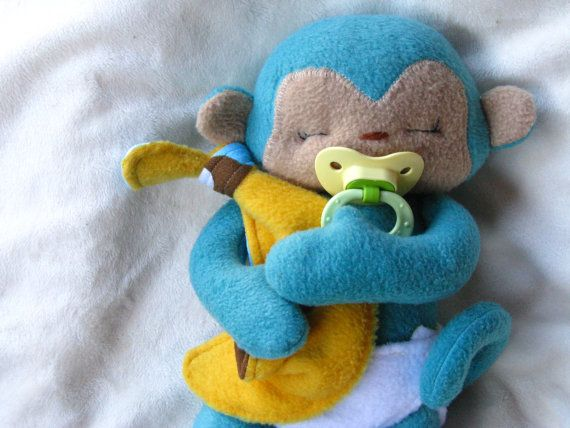 Tiny Monkey PDF Sewing Pattern by NimblePhish on Etsy