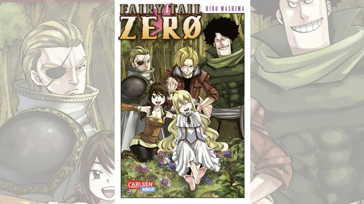 Manga Highlights 2016 Fairy Tail Zero