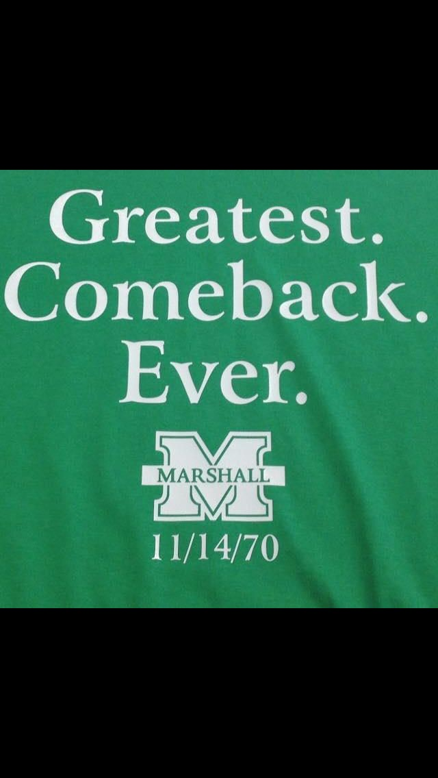 We are...MARSHALL