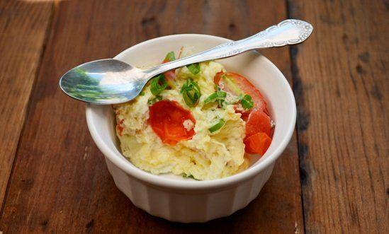 Geen+tijd+om+te+koken?+Maak+binnen+1+minuten+deze+heerlijke+quiche+uit+een+kopje!+Het+smaakt+echt+voortreffelijk!