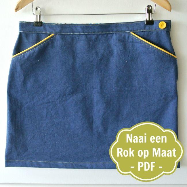NaaiPatroon Een Rok op Maat - Sew Natural