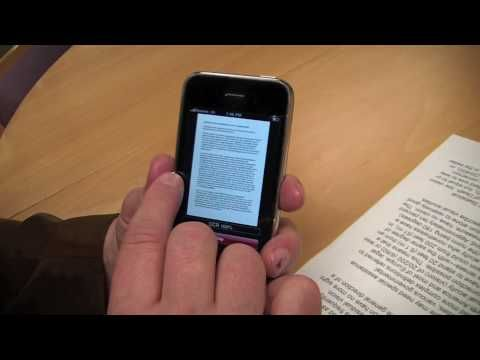 SayText - a free iPhone app for the visually impaired - YouTube
