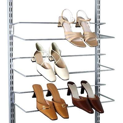 The Container Store U003e Platinum Elfa Easy Hang Shoe Rack