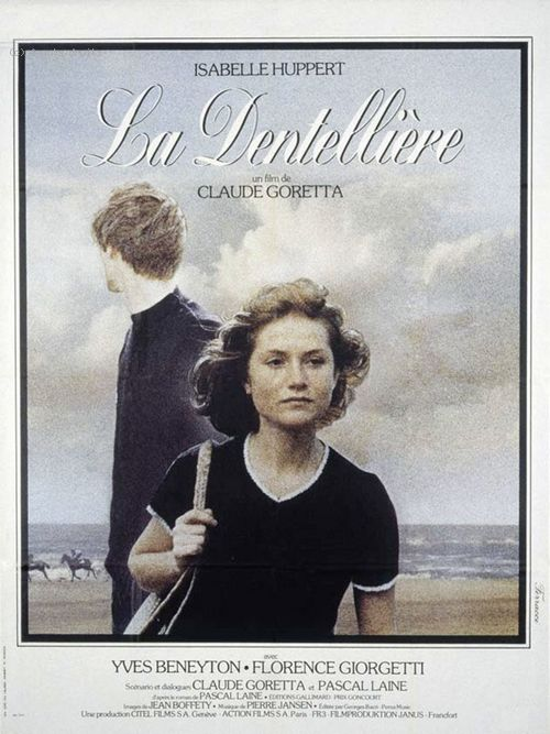 Постер фильма «Кружевница» (Реж. Клод Горетта, 1977)