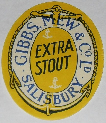 Gibbs Mew Co Extra Stout Salisbury Vintage Beer Bottle Label | eBay
