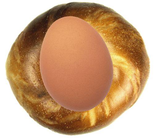 Яйца против бубликов: кто победит?
